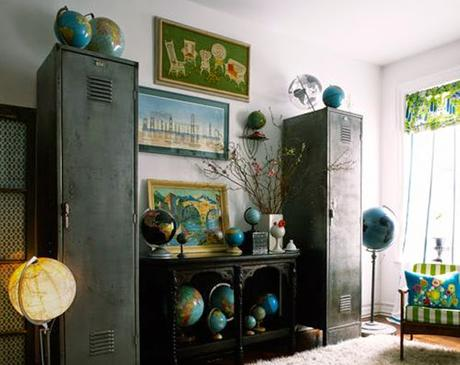 Decoration mur - collection objets