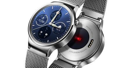 Huawei dévoile sa montre connectée AndroidWear