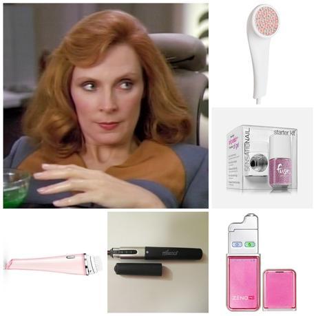 Gadgets beauté dignes de Star Trek... (parce que en 2015 on a une belle technologie...)