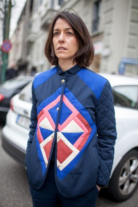 Street Style : dolce moda à la Fashion Week de Milan