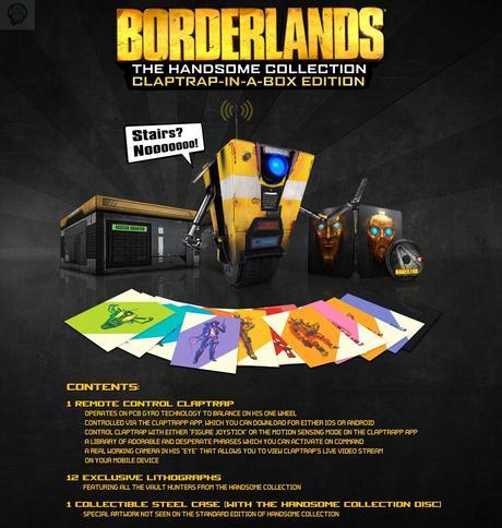 BorderlandsClaptrap Les sorties jeux vidéo de mars  Xbox One sortie ps4