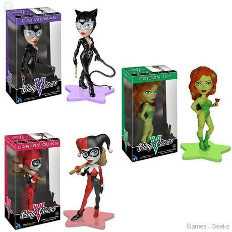 Batman Vinyl Vixens Figures La sélectiion Figurine de la semaine #1  Harley Quinn figurine dc comics