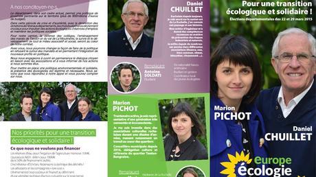 La Rochelle EST, pour une Transition Ecologique & Solidaire. Europe Ecologie Les Verts - La Rochelle Ré Aunis Notre programme pour un département écologique et solidaire