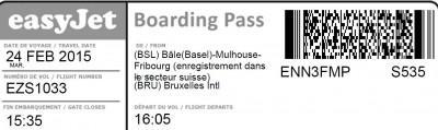 Bording pass