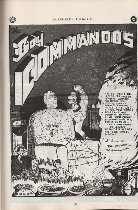Futurs : une revue extra qui explorait aussi le passé. (Manchu, et DC comics)