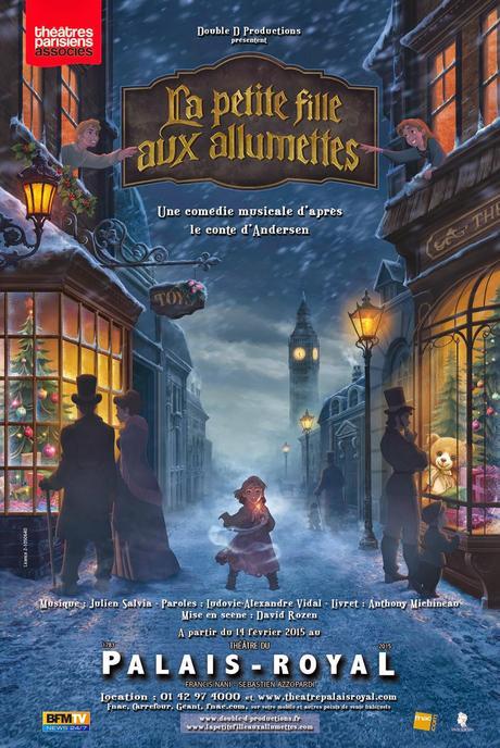 THÉÂTRE: La petite fille aux allumettes (2015), pour réchauffer les coeurs / warming our hearts up