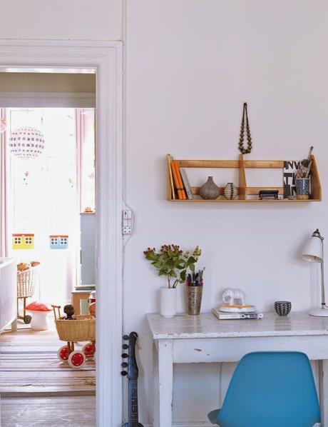 Copenhague / Un appartement de 110 m² très lumineux /