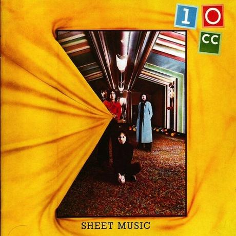 10cc #1-Sheet Music-1974