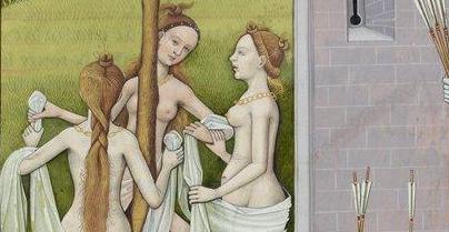 Coiffures et shampoing du Moyen-Age, les recettes pour avoir la classe