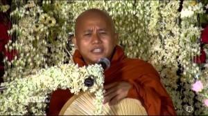 BIRMANIE: L'extrémisme bouddhiste passé sous silence, Wirathu, ce «Hitler» local