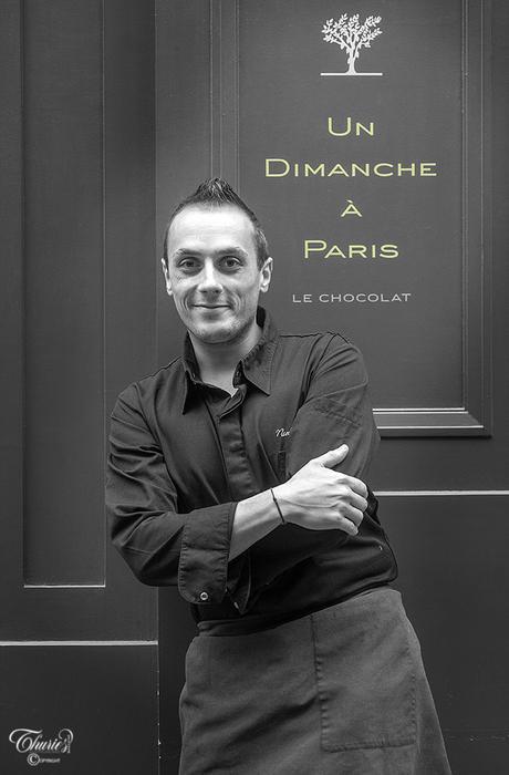 Nicolas Bacheyre dans Thuriès Gastronomie Magazine