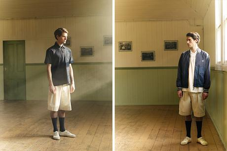NIGEL CABOURN X FRED PERRY – S/S 2015 COLLECTION LOOKBOOK