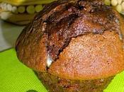 Muffin chocolat pépites blanc