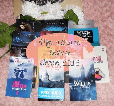 mes achats lecture février 2015