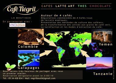 Les Ateliers du Goût chez Café NEGRIL La Boutique