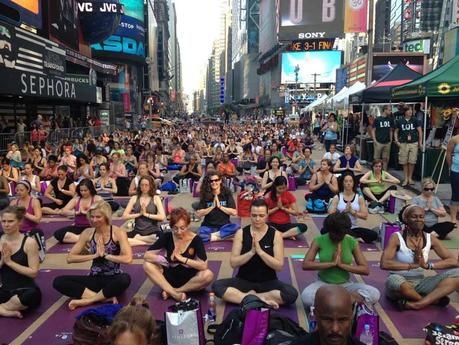 YOGA IN THE CITY NEW YORK