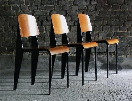 histoire de design chaise m tropole n 305 par jean prouv 1934 paperblog. Black Bedroom Furniture Sets. Home Design Ideas