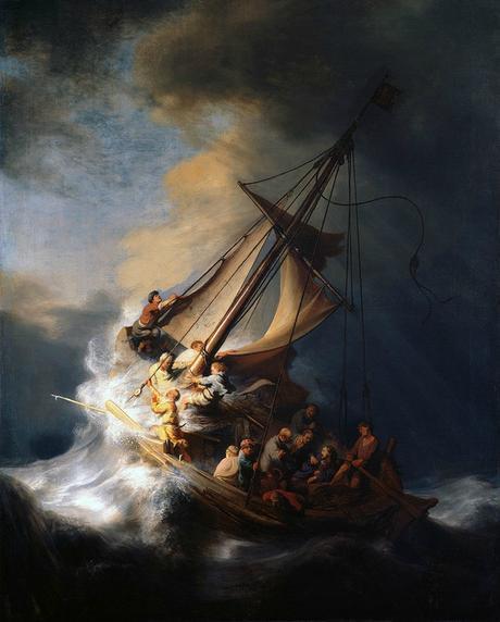 1633 orage en mer de galilee