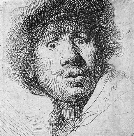 1630 autoportrait