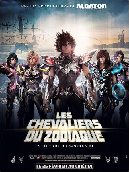 Les Chevaliers du Zodiaque, la légende du Sanctuaire - le film (2015)