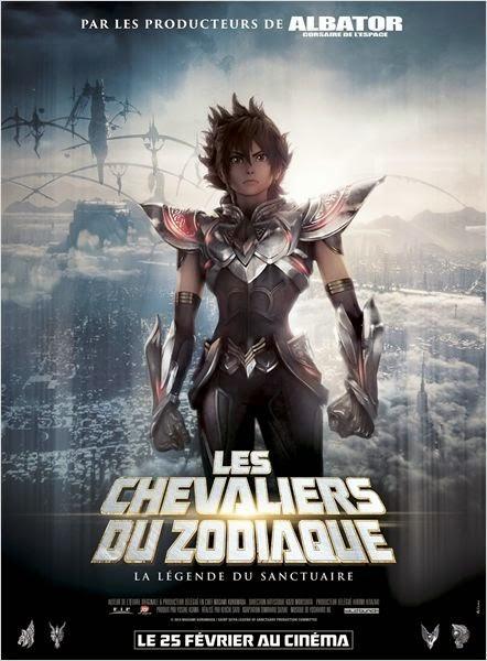 Les Chevaliers du Zodiaque La Légende du Sanctuaire Affiche
