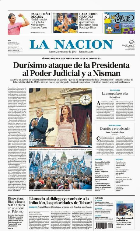 Gros succès pour Cristina à l'ouverture de la session parlementaire [Actu]