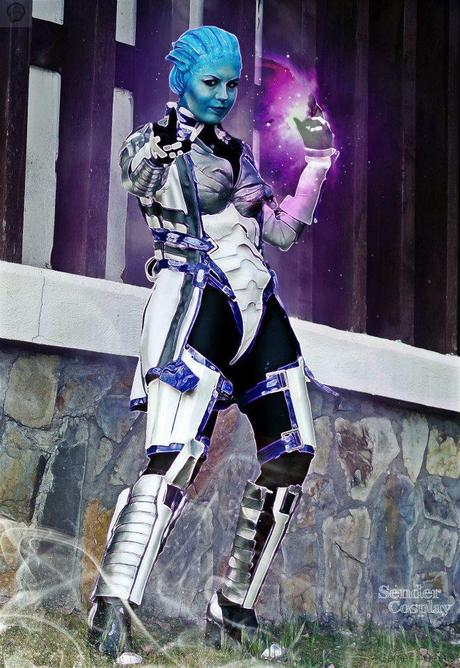 307335 136915463144677 1377741947 n Cosplay   Mass Effect   Liara #62  mass effect Cosplay