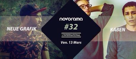 32ème soirée novorama à l'international avec Neue Grafik + Kaben