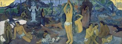 Paul Gauguin D'où venons-nous? Que sommes-nous? Où allons-nous?, 1897/98 Huile sur toile, 139,1 x 374,6 cm  Museum of Fine Arts, Boston, Tompkins Collection, Arthur Gordon Tompkins Fund Photo : © 2015 Museum of Fine Arts, Boston