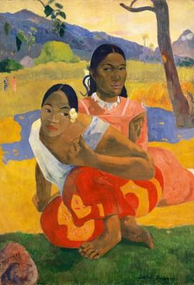 Paul Gauguin Nafea faaipoipo, 1892 Quand te maries-tu?  Huile sur toile, 105 x 77,5 cm  Collection Rudolf Staechelin Photo: Kunstmuseum Basel, Martin P. Bühler