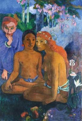 Paul Gauguin  Contes Barbares, 1902  Huile sur toile, 131,5 x 90,5 cm  Museum Folkwang, Essen  Photo: © Museum Folkwang, Essen