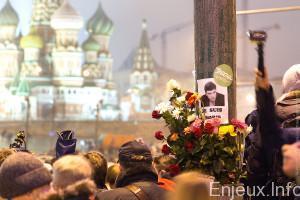Russie : Grand hommage à Boris Nemtsov, l'opposant assassiné