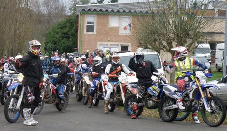 Rando enduro du Moto Club Rouergat (12) le 11 avril 2015