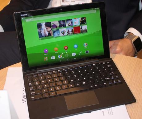 MWC 2015 : Sony Mobile dévoile la nouvelle tablette ultra fine Hi-res Xperia Z4 Tablet