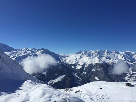 Au sommet de la montagne