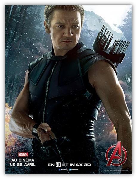 Avengers l'ère d'Ultron – Hawkeye en affiche
