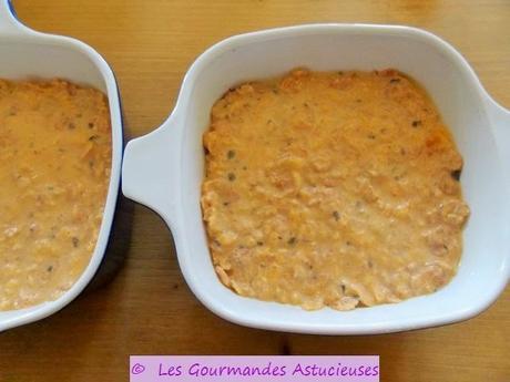 Pâté végétal au potiron et aux flocons de soja (Vegan et sans gluten)