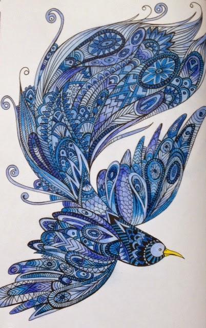 Bestiaire extraordinaire 100 coloriages anti-stress de Hannah Davies, Richard Merritt, Cindy Wilde