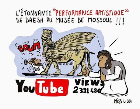 Les dessinateurs et caricaturistes réinterprètent cet événement...