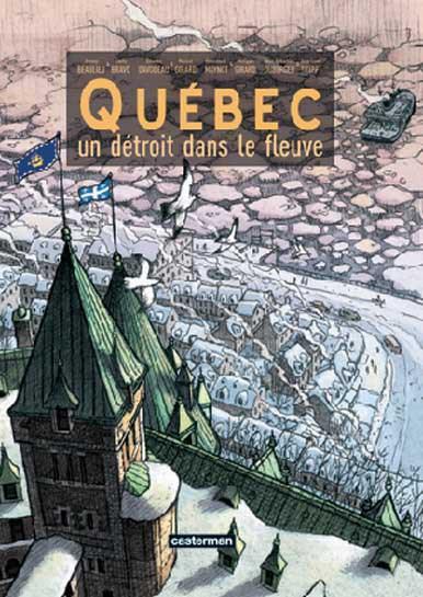 Québec un détroit dans le fleuve