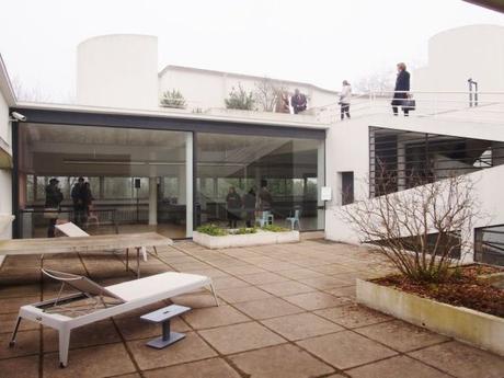 visite d co la villa savoye voir. Black Bedroom Furniture Sets. Home Design Ideas