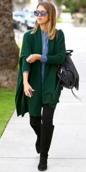 Le look casual de Jessica Alba pour une virée shopping - Crédit photo  : ABACA / Public.fr