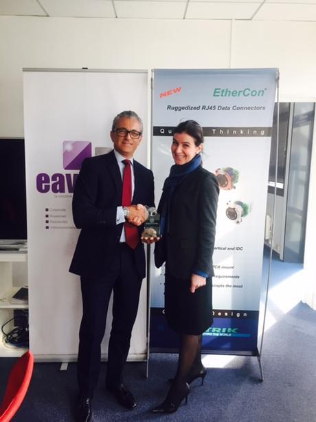 FullSizeRender EAVS reçoit le trophée NEUTRIK des meilleures opportunités de projets 2015