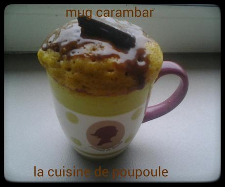 Mug cake au carambar