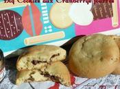 Miam Cookies Cranberrys fourrés Nutella