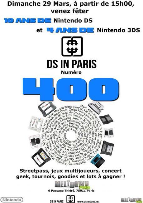 400ème DS in Paris, 10 ans de la DS et 4 ans de la 3DS