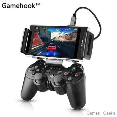 Test – Gamehook pour DualShock 3 / Android
