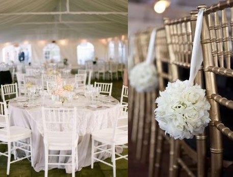 D co de mariage blanche les meilleures id es paperblog for Les meilleurs decors de maison