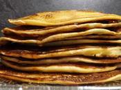 Pancakes sans oeufs, lait, beurre