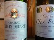 Saint Emilion Larcis Ducasse 2007 Clos Fourtet 2002